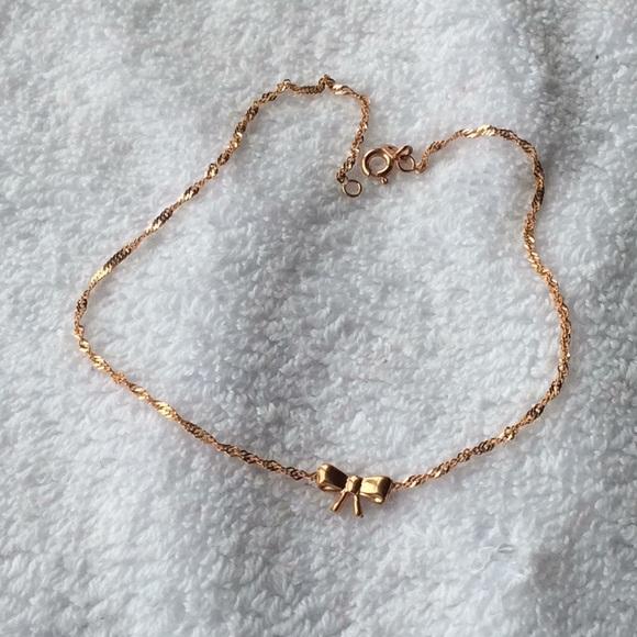 c45b19c3e Kay Jewelers Jewelry | 14k Rose Gold Ankle Bracelet | Poshmark
